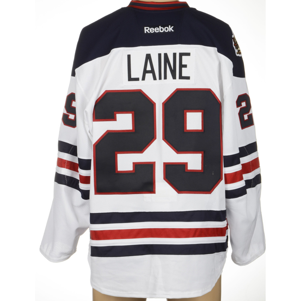 reputable site 41fc7 b2106 Patrik Laine Winnipeg Jets Game-Used 2016 Heritage Classic ...