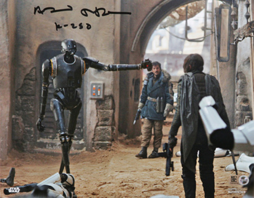 Alan Tudyk as K-2SO Autographed Inscribed