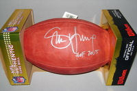 HOF - 49ERS STEVE YOUNG SIGNED AUTHENTIC FOOTBALL