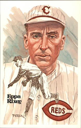 Photo of 1980-02 Perez-Steele Hall of Fame Postcards #94 Eppa Rixey  -- HOF Class of 1963