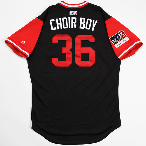 "Photo of John Ryan ""Choir Boy"" Murphy Arizona Diamondbacks Game-Used Players' Weekend Jersey"