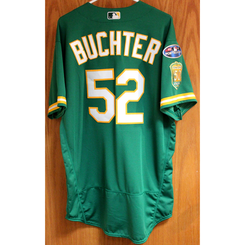 Photo of Team Issued Ryan Buchter 2018 Jersey w/ Postseason Patch