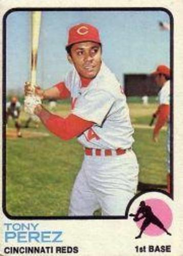 Photo of 1973 Topps #275 Tony Perez