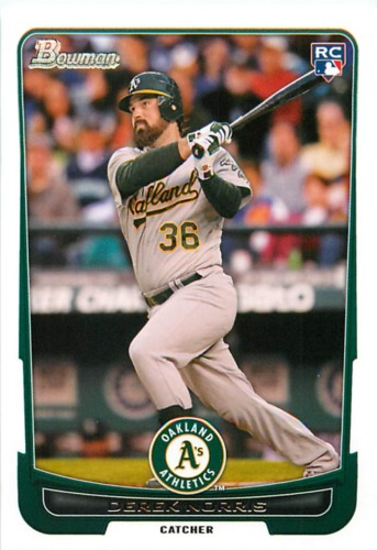 Photo of 2012 Bowman Draft #43 Derek Norris RC
