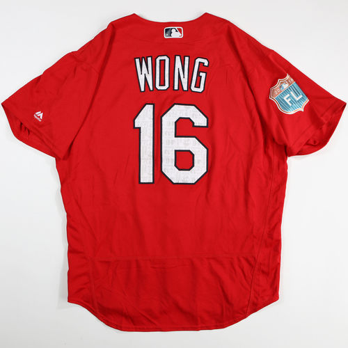 Photo of 2016  Spring Training -  Game-Used Jersey - Kolton Wong (Cardinals) - Size 46