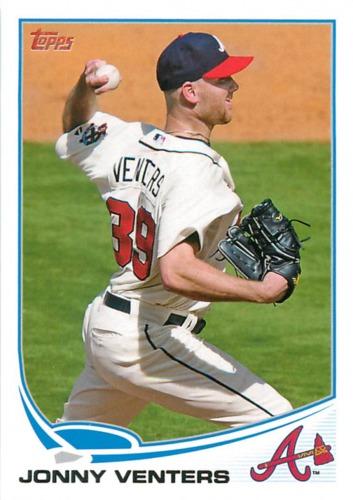 Photo of 2013 Topps #201 Jonny Venters
