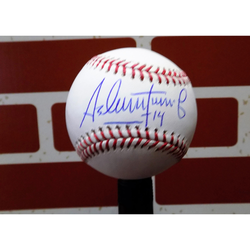 Photo of Asdrubal Cabrera Autographed Baseball