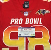 NFL - Ravens Brandon Williams Game Issued 2019 Pro Bowl Jersey Size 44