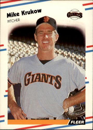 Photo of 1988 Fleer #85 Mike Krukow