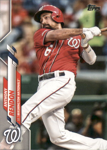 Photo of 2020 Topps #14 Anthony Rendon