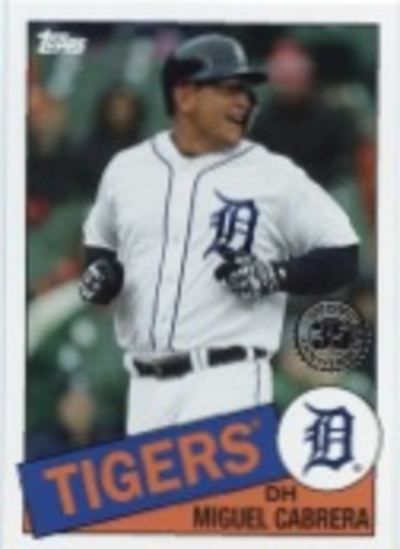 Photo of 2020 Topps '85 Topps #8543 Miguel Cabrera