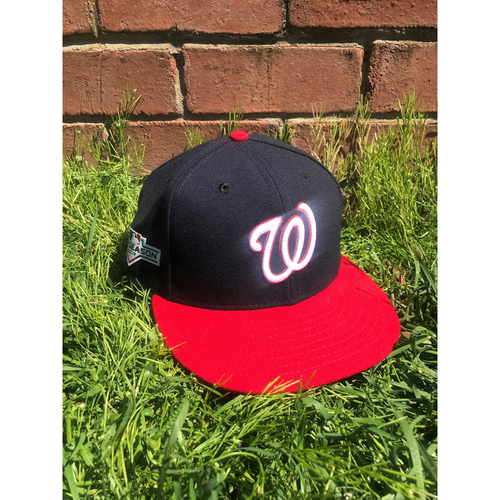 Photo of Yan Gomes Game-Used Cap Worn 2019 NLCS