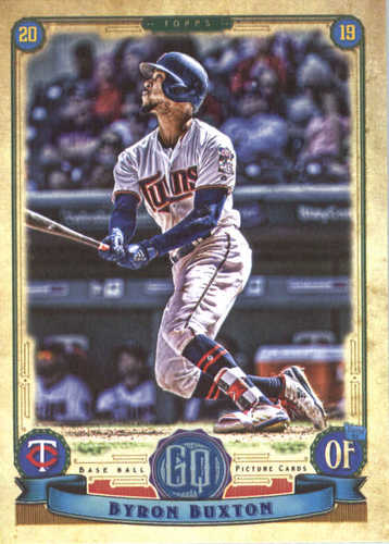 Photo of 2019 Topps Gypsy Queen #78 Byron Buxton