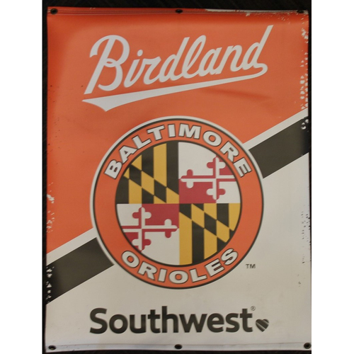 Photo of MD Flag Sleeve Patch Street Banner from the 2019 Season
