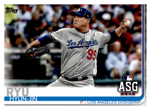 Photo of 2019 Topps Update #US297 Hyun-Jin Ryu AS