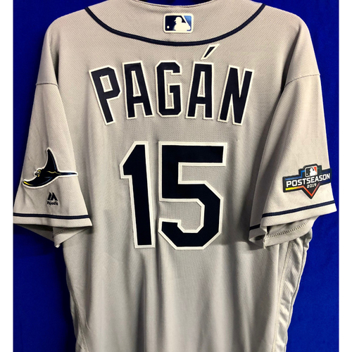 Photo of Team Issued Postseason Jersey: Emilio Pagan