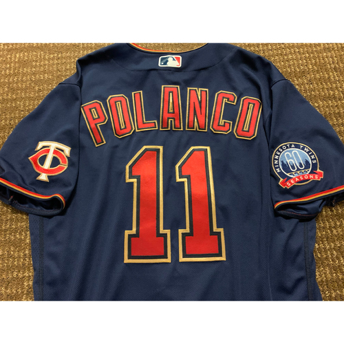Photo of Jorge Polanco Team-Issued Jersey