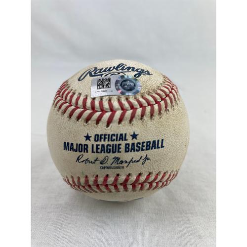 Photo of Yordan Alvarez Home Run Baseball - 8/14/2020 vs. SEA