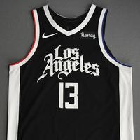 Paul George - Los Angeles Clippers - Game-Worn City Edition Jersey - Scored 23 Points - 2021 NBA Playoffs