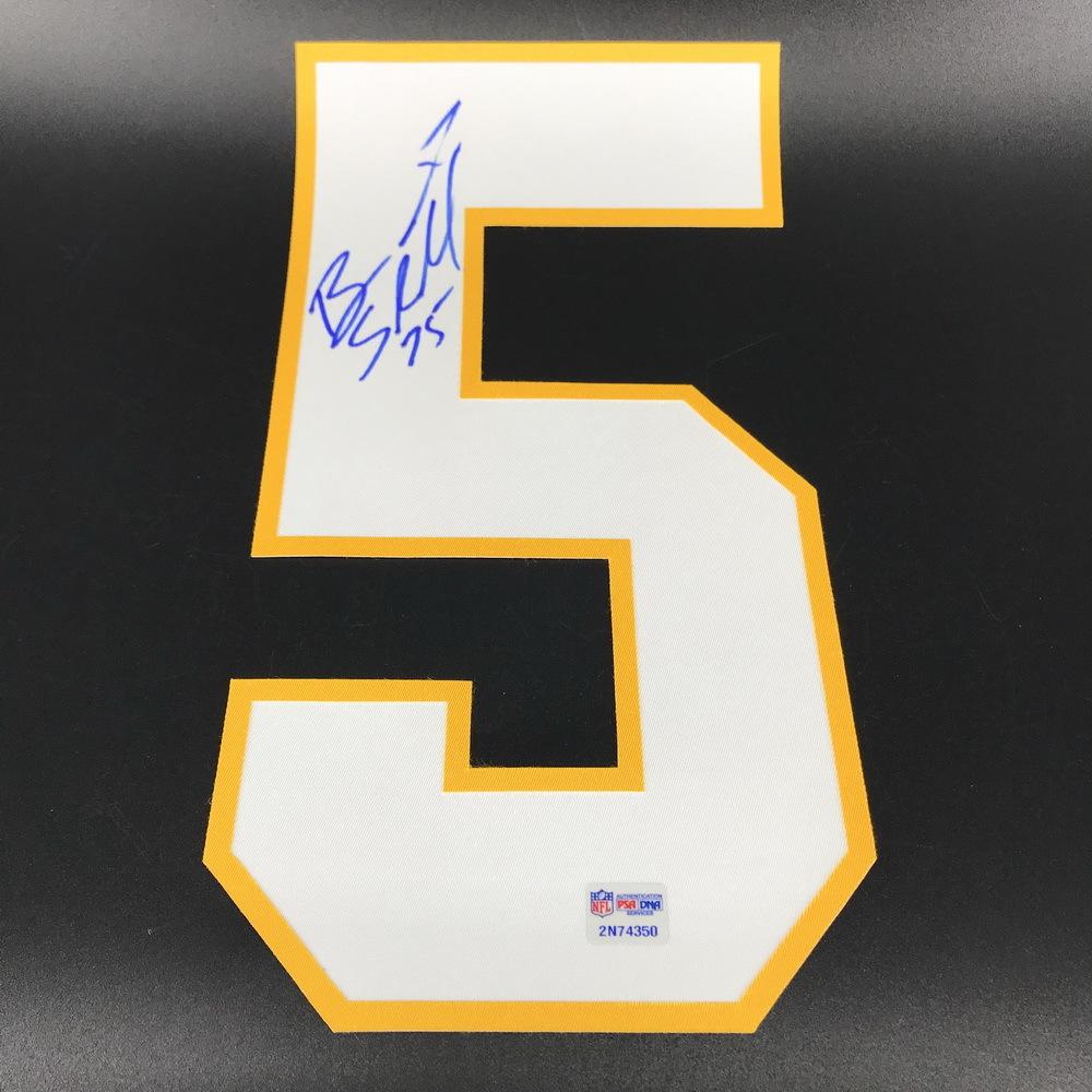 NFL - WFT Brandon Scherff Signed Jersey Number