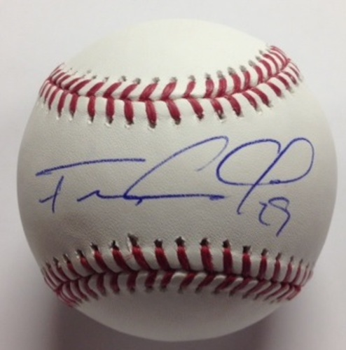 Photo of Francisco Cervelli Autographed Baseball