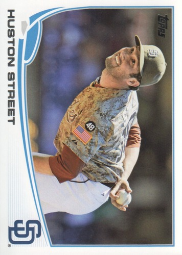 Photo of 2013 Topps #549 Huston Street