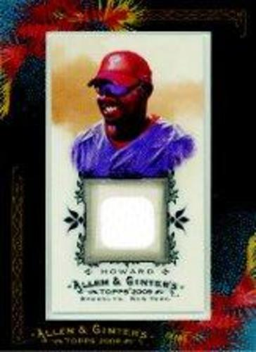 Photo of 2009 Topps Allen and Ginter Relics #RH Ryan Howard Jsy