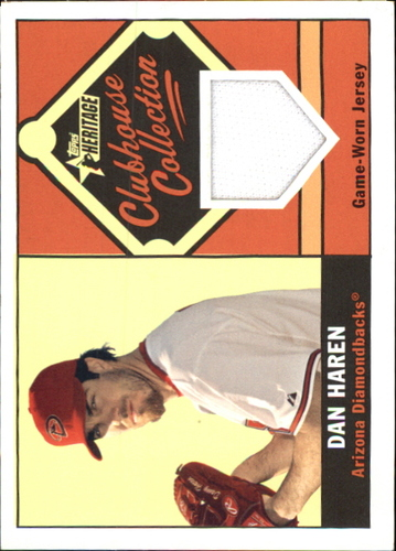 Photo of 2010 Topps Heritage Clubhouse Collection Relics #DH Dan Haren