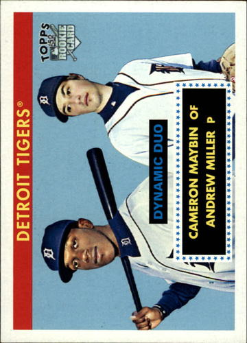 Photo of 2007 Topps 52 Dynamic Duos #DD13 Andrew Miller/Cameron Maybin