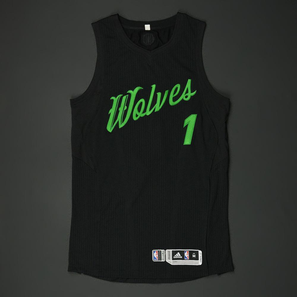 c43183c47 Tyus Jones - Minnesota Timberwolves - NBA Christmas Day  16 - Game-Worn  Jersey