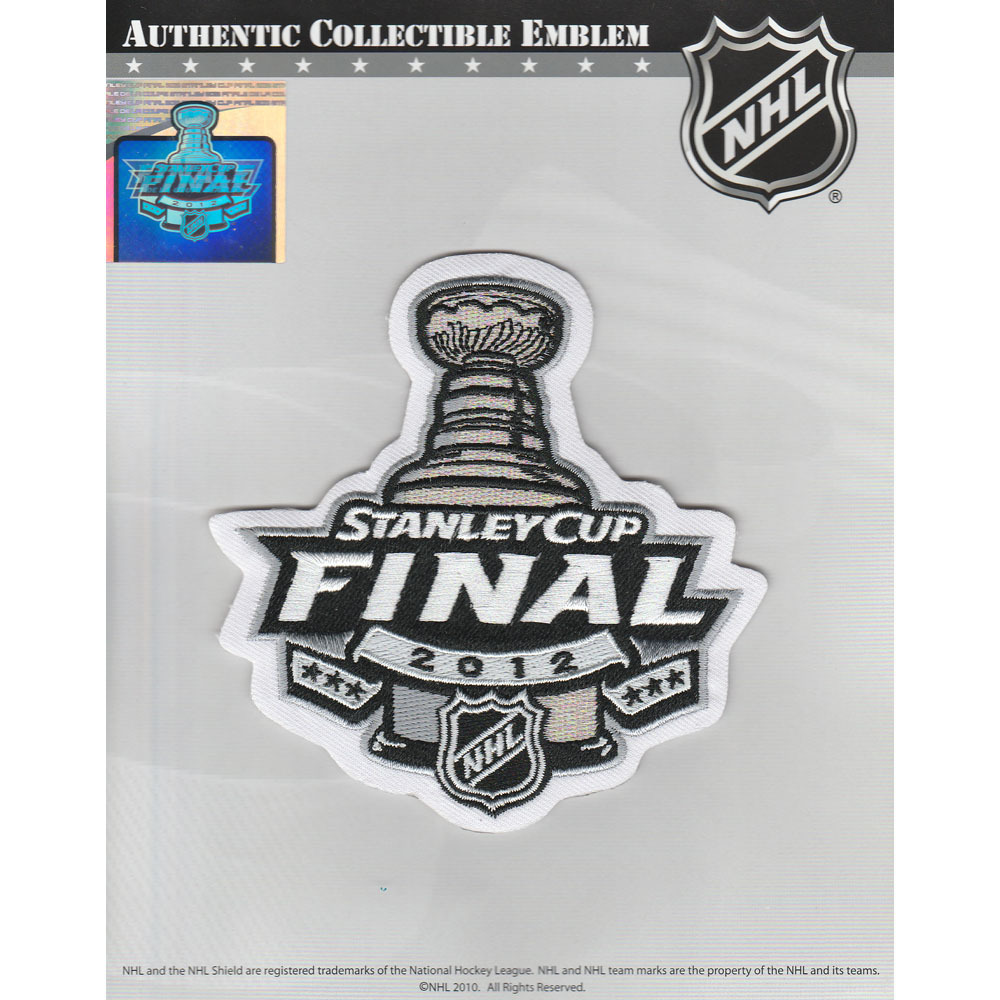 2012 NHL Stanley Cup Final Jersey Patch (Los Angeles Kings vs. New Jersey Devils)