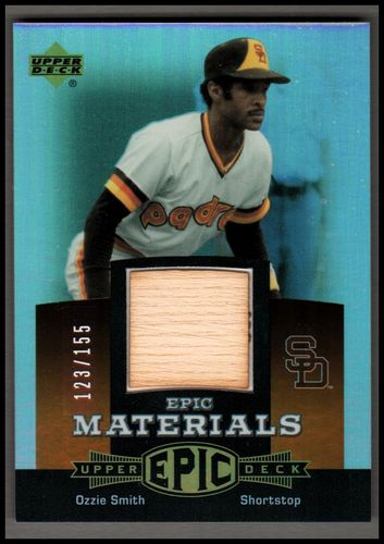 Photo of 2006 Upper Deck Epic Materials Dark Orange #OS1 Ozzie Smith Bat/155