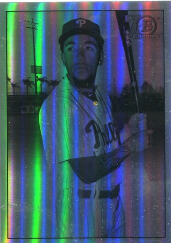Photo of 2017 Bowman Chrome '48 Bowman Refractors #48BJC J.P. Crawford