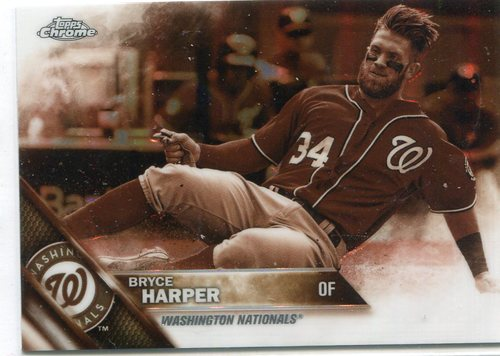 Photo of 2016 Topps Chrome Sepia Refractors #200 Bryce Harper