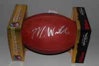 NFL - CHARGERS MIKE WILLIAMS SIGNED AUTHENTIC FOOTBALL