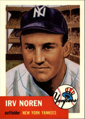 Photo of 1991 Topps Archives 1953 #35 Irv Noren