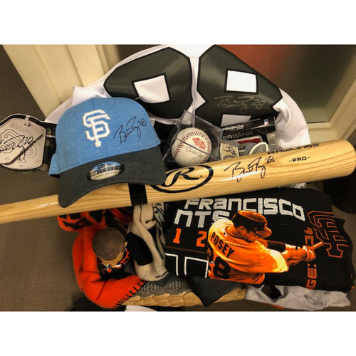 "Photo of Giants Wives Auction: Buster Posey ""Favorite Things"" Basket"