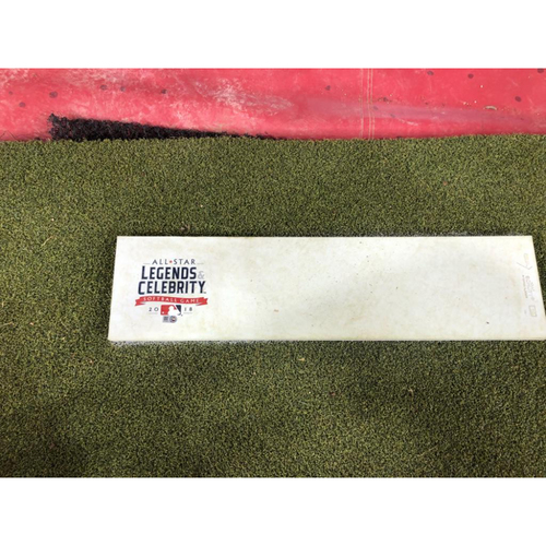 Photo of 2018 MLB All-Star Legends & Celebrity Softball Game - Game-Used Pitching Rubber