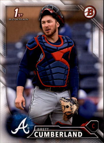 Photo of 2016 Bowman Draft #BD26 Brett Cumberland