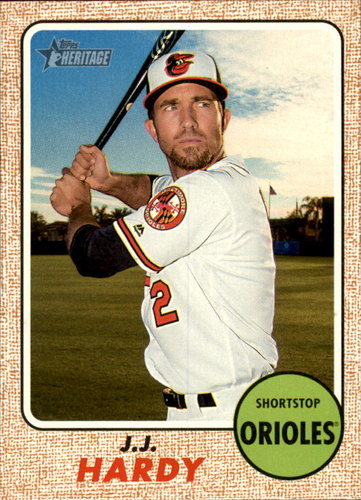 Photo of 2017 Topps Heritage #159 J.J. Hardy