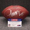 Crucial Catch  - Broncos Demaryius Thomas signed and game used football w/ Crucial Catch logo (October 15, 2017)