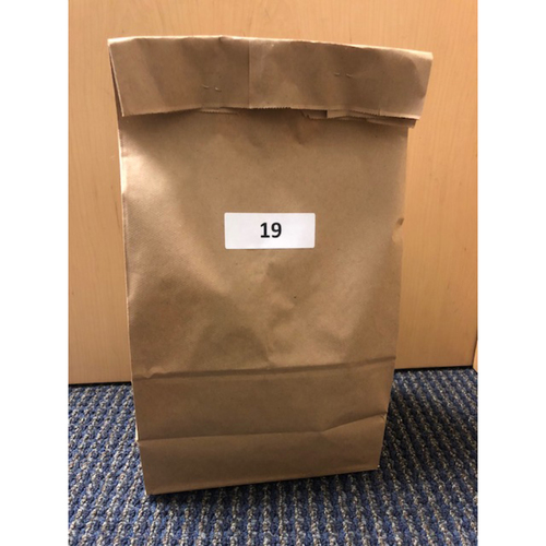 Photo of Los Angeles Dodgers Foundation: Game-Used Jersey - 2018 NLCS Game 5 Mystery Bag-Fundraiser Bag-19