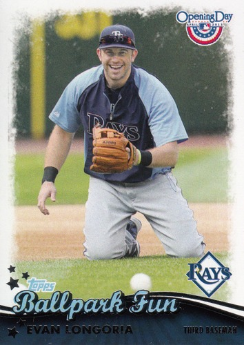 Photo of 2013 Topps Opening Day Ballpark Fun #BF11 Evan Longoria