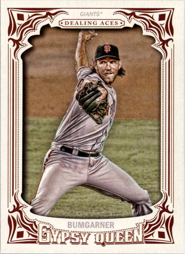 Photo of 2014 Topps Gypsy Queen Dealing Aces #DAMB Madison Bumgarner