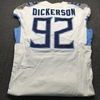 London Games - Titans Matt Dickerson Game Used Jersey (10/21/18) Size 44