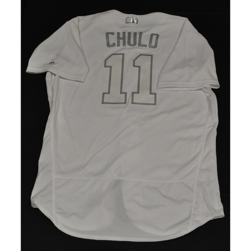 "Photo of Jorge ""Chulo"" Polanco Minnesota Twins Game-Used 2019 Players' Weekend Jersey"