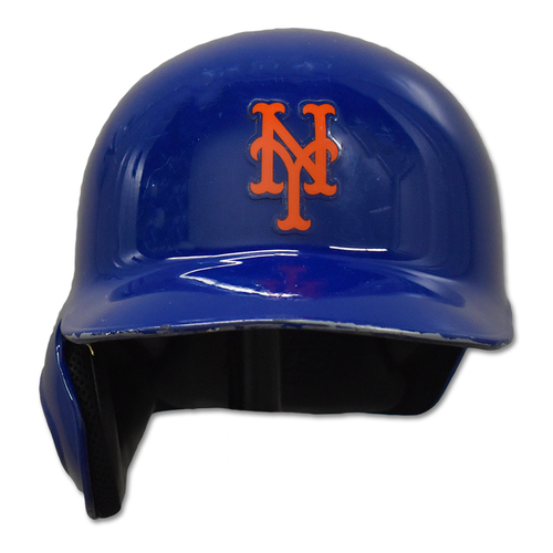 Photo of Addison Reed #43 - Game-Used Batting Helmet - Mets vs. Giants - NL Wild Card Game - 10/5/16