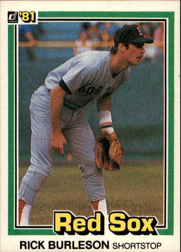 Photo of 1981 Donruss #454 Rick Burleson