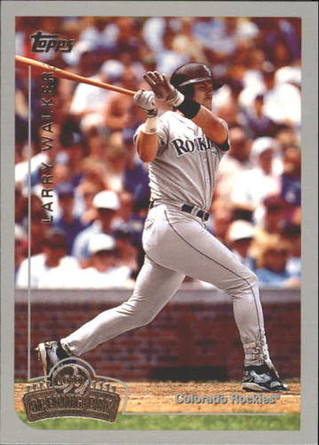 Photo of 1999 Topps Opening Day #155 Larry Walker