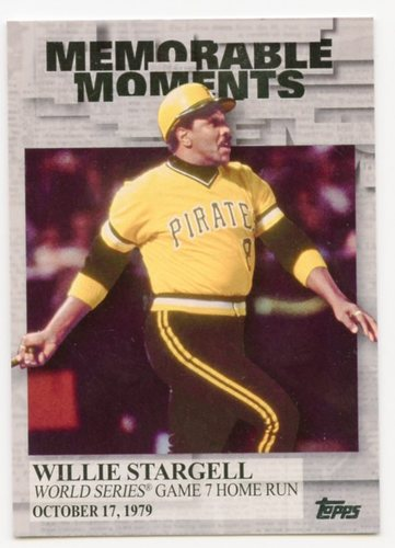 Photo of 2017 Topps Memorable Moments #MM22 Willie Stargell